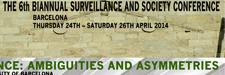 VI Conferencia bianual sobre vigilancia y seguridad